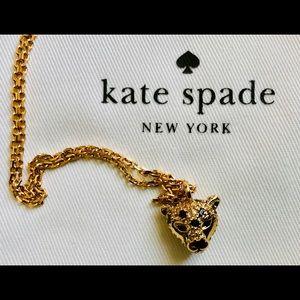 NWT Kate Spade Run Wild Cheetah Necklace